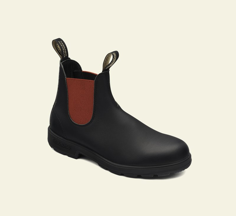 Boots #508 - ORIGINALS SERIES - Black & Red