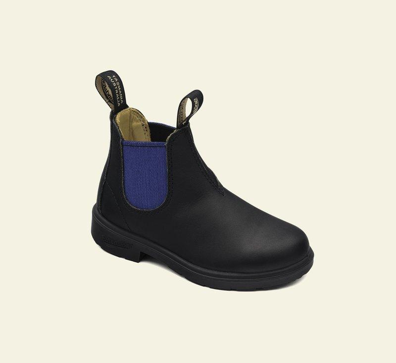 Boots #580 - KIDS - Black & Blue