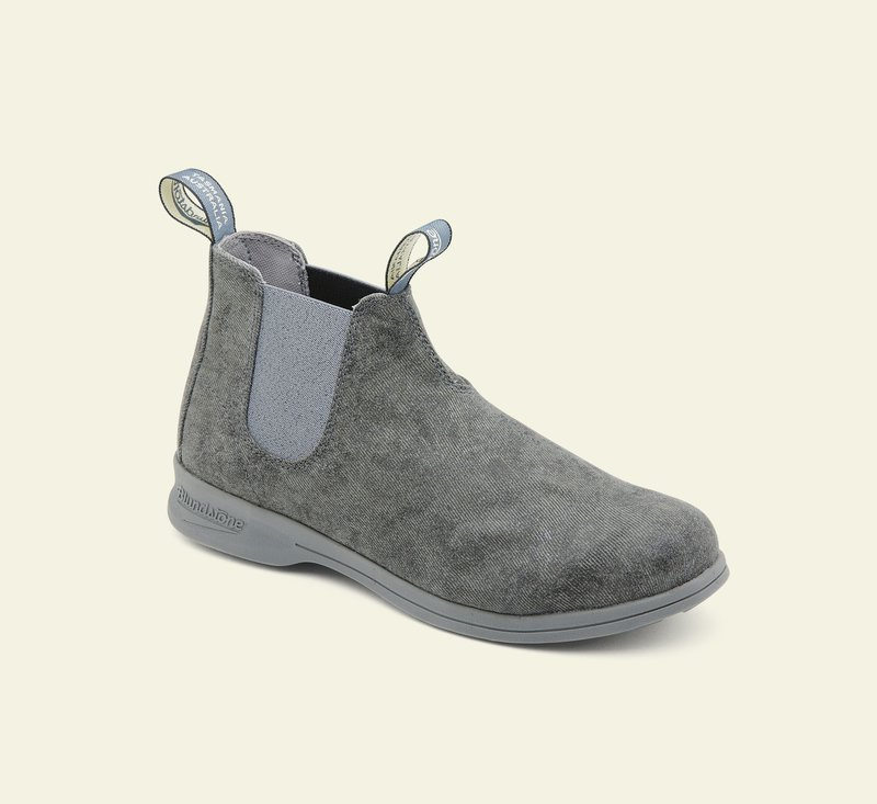 Boots #1368 - ACTIVE SERIES - Charcoal Canvas
