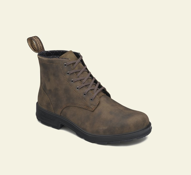 Boots #1930 - LACE UP SERIES - Rustic Brown