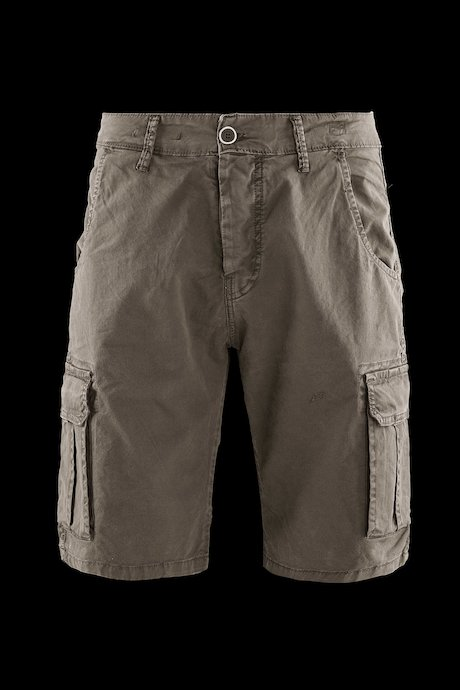 Cargo shorts microprinted