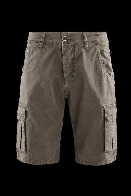 Cargo shorts microprinted