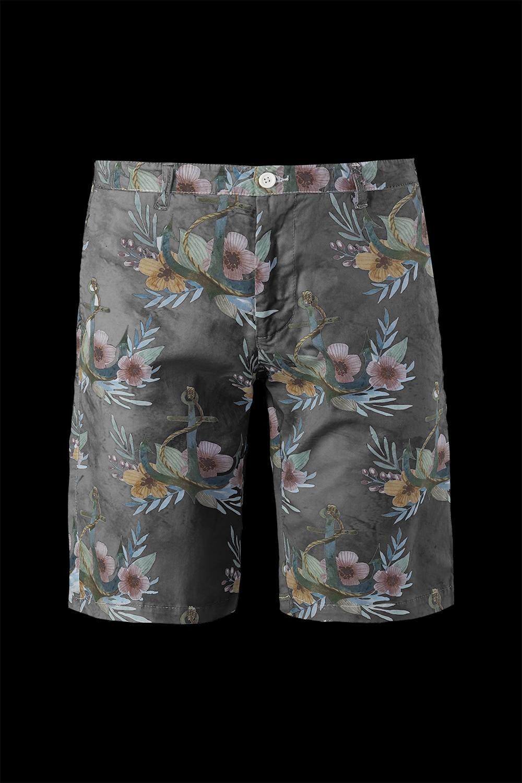 Shorts flowers print