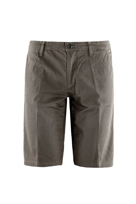 Chino shorts microprinted