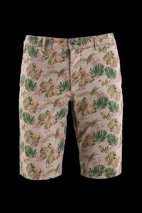 Chino shorts floral print