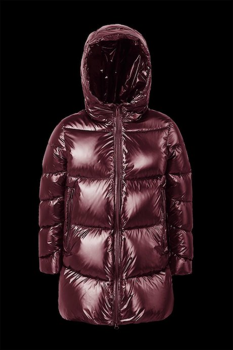 Laqué Down Jacket with Hood