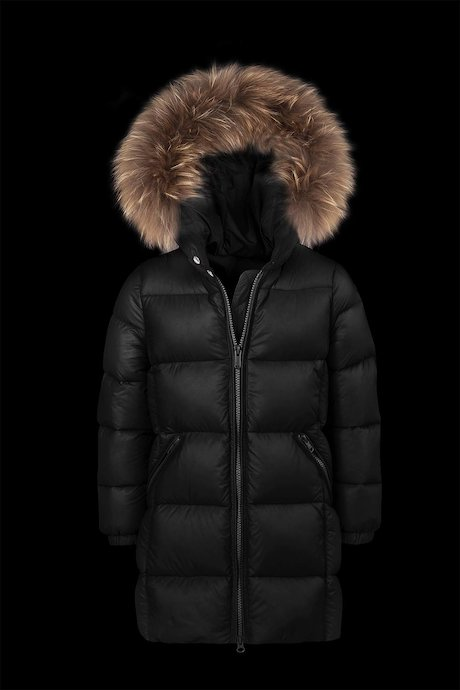 c39eeefc940a jackets Kid Medium Shiny Down Jacket Fur Inserts - Bomboogie