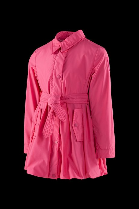 Girls' trench with large bottom