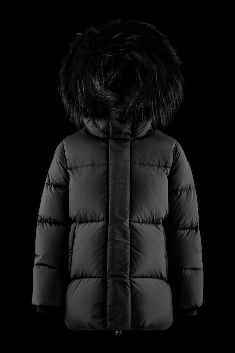 Long down jacket