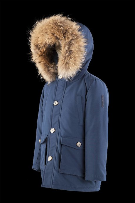 Parka real down padding