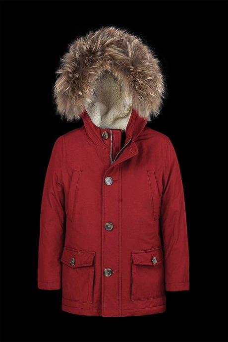 90114fb65d26 jackets Kid Padded Parka Fur Inserts - Bomboogie