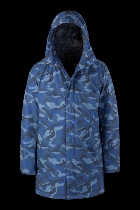 Camouflage Padded Coat