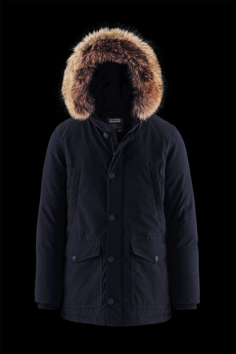 Padded Multi Pocket Parka Fur Inserts