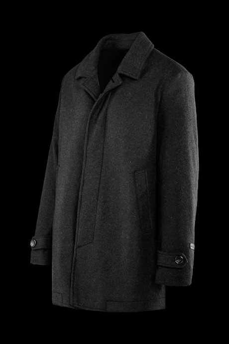 Wool melange coat