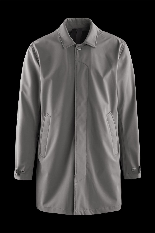 Ungefütterter Softshell Mantel