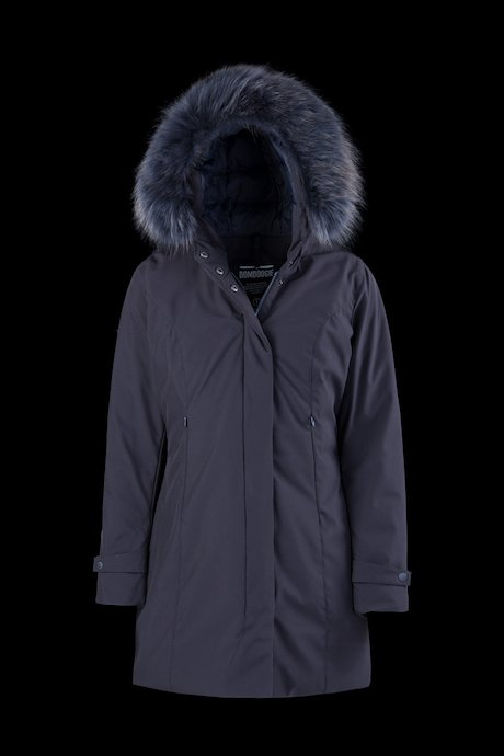 Softshell Parka Coloured Fur