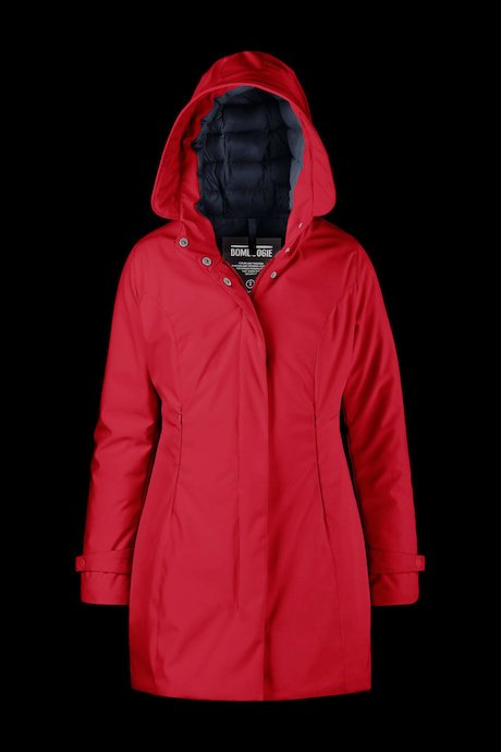 Softshell Parka with Hood