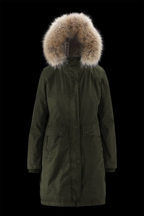 Parka Detachable Fur Lining