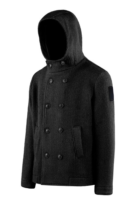 Double breasted short coat