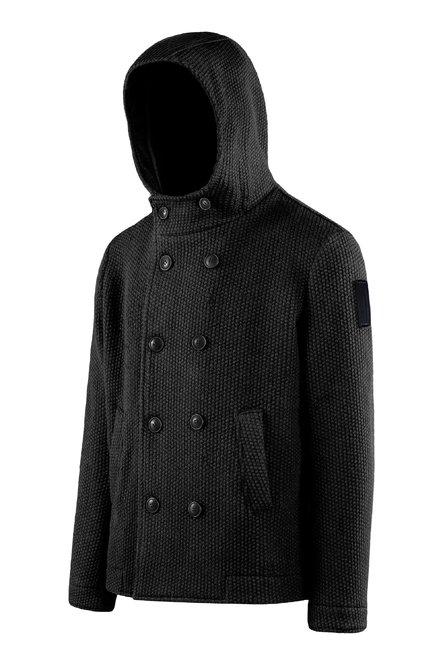 Manteau court croisé