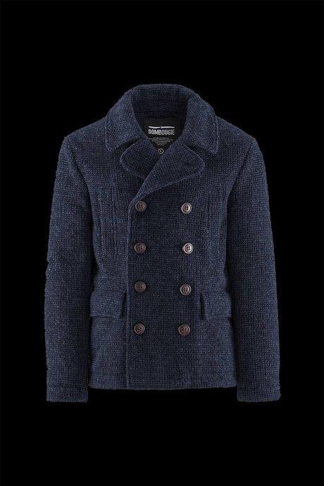 Giubbini uomo e giacche Uomo Cappotto Corto Doppiopetto - Bomboogie abe1da5cdb16