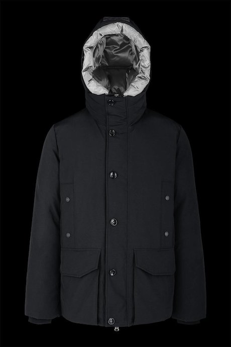 Multipocket parka water repellent