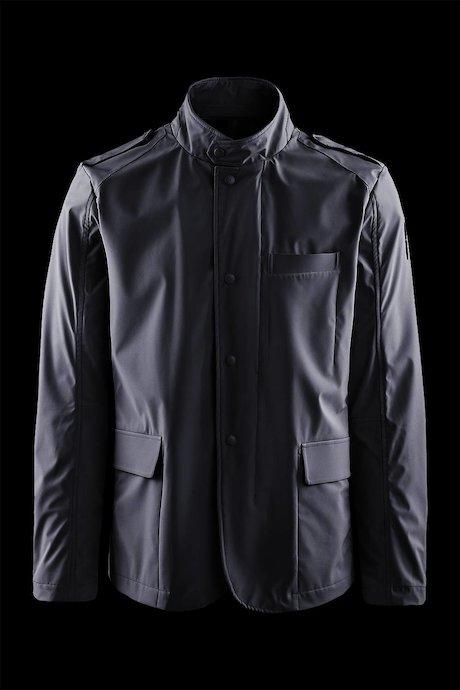 Unlined softshell blazer