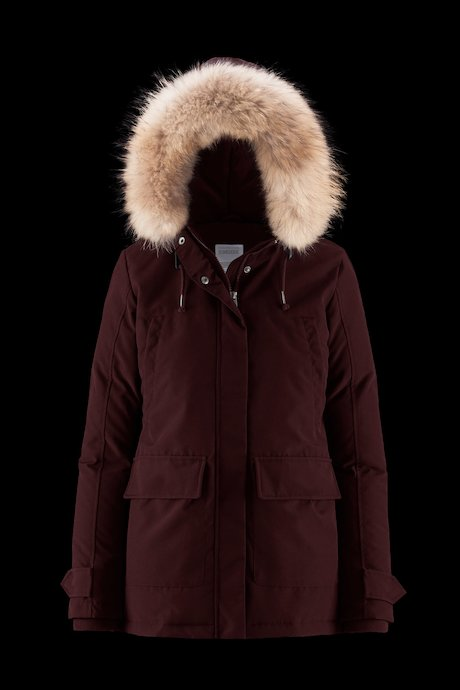 Short Parka Fur Inserts
