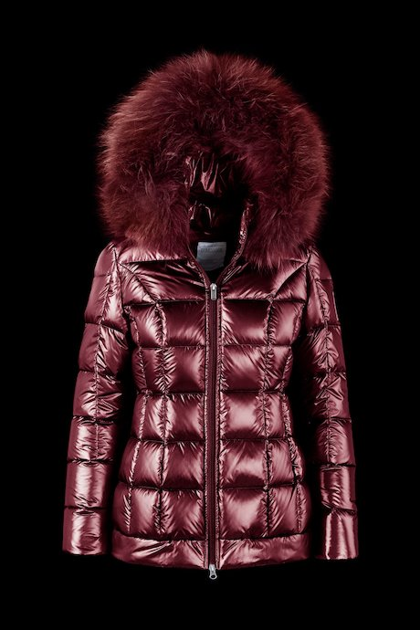 Laqué Down Jacket Fur Inserts