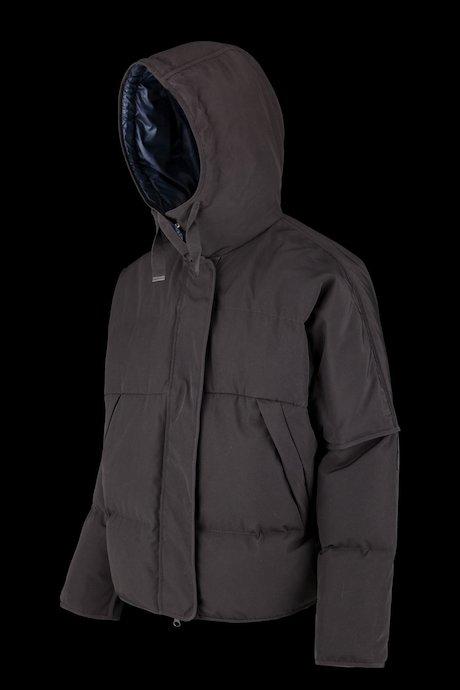Short down jacket rainproof