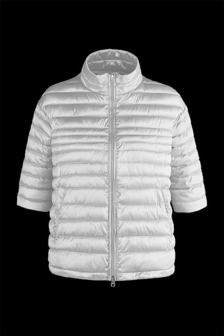 Three-quarter sleeve down jacket