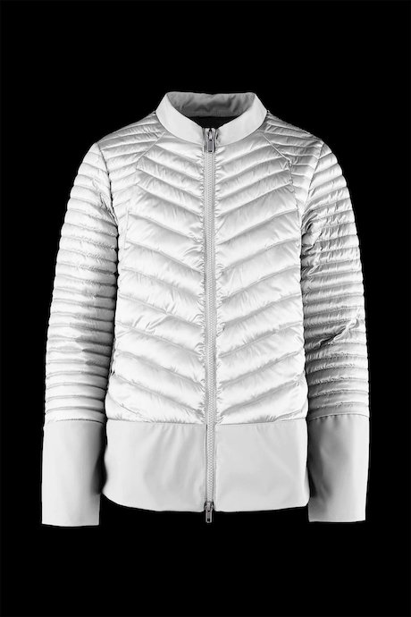 Bi-material Jacket down-like padding
