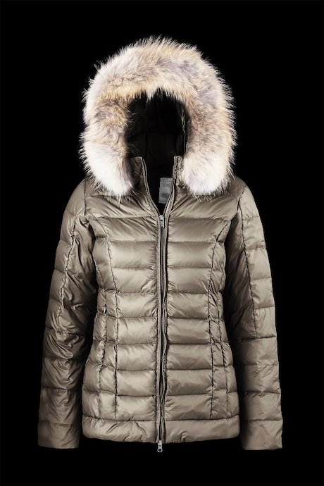 Medium Matt Down Jacket Fur Inserts