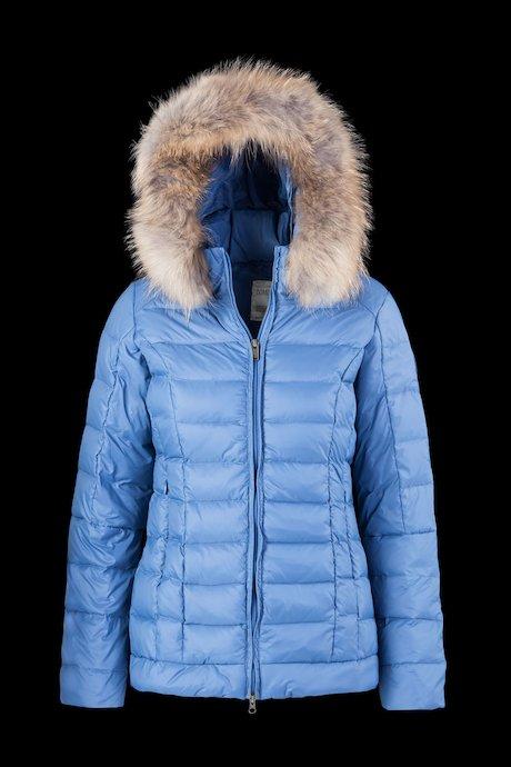 Medium Matt Down Jacket Fur Inserts