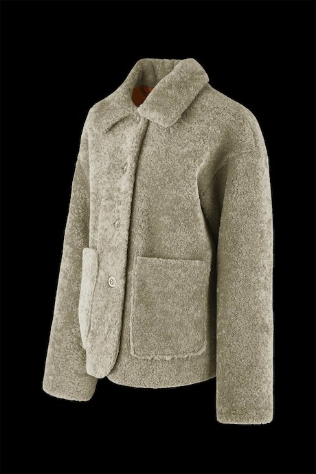 Eply coat with buttons