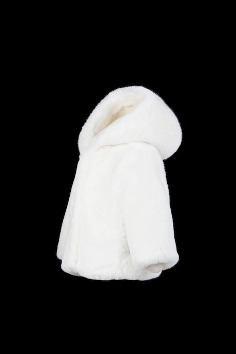 Baby Faux Fur with Hood