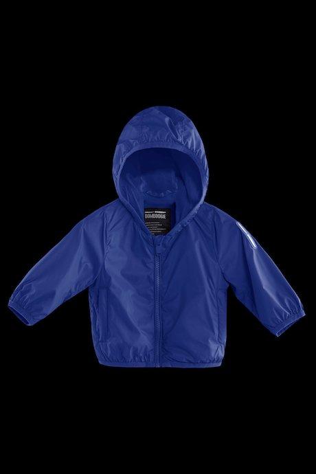 Baby jacket with hood