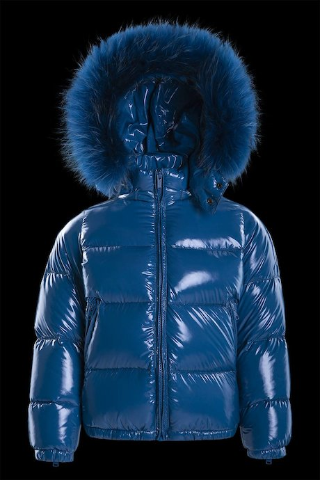 Laqué down jacket