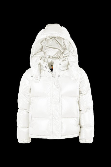 Laqué Down Jacket Detachable Hood