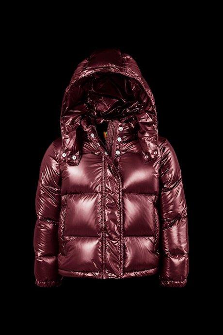 Laqué Down Jacket Detachable Hood