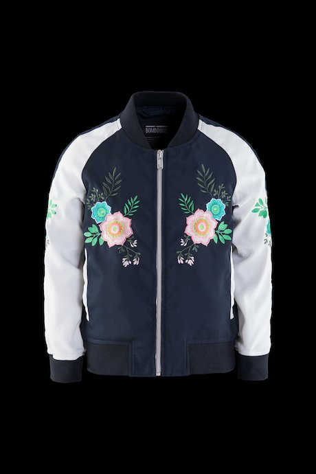Girl's Bomber Two-tone