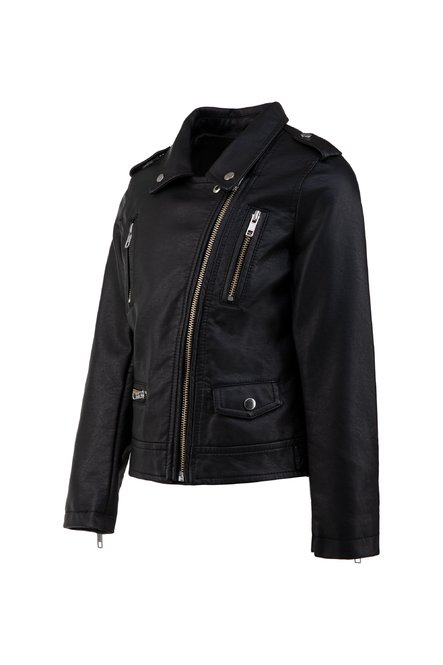 Girls' faux leather pefecto
