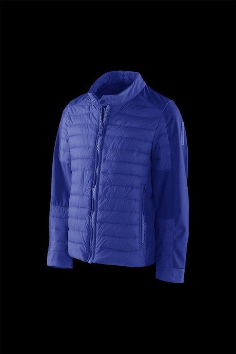 Boys' bi material down jacket
