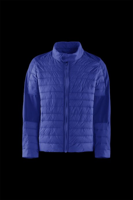 Boys' bi material down jacket