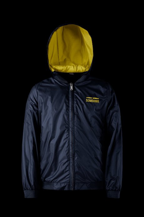 Matt down jacket with hood