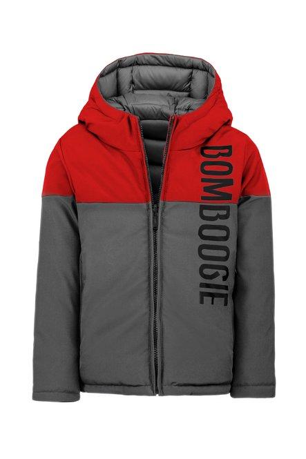 Synthetic bi color reversible coat
