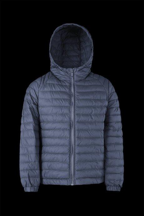 online store 609de 401d6 Matt down jacket with hood