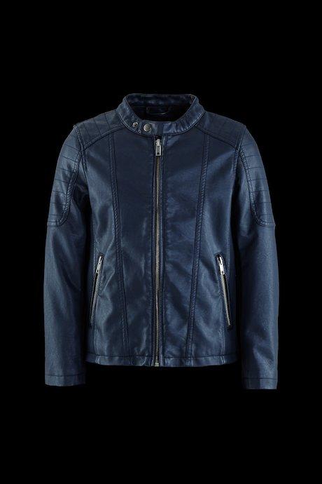 Boy's Jacket Bi-material