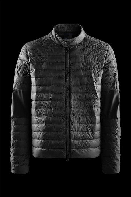 Bi material down like jacket
