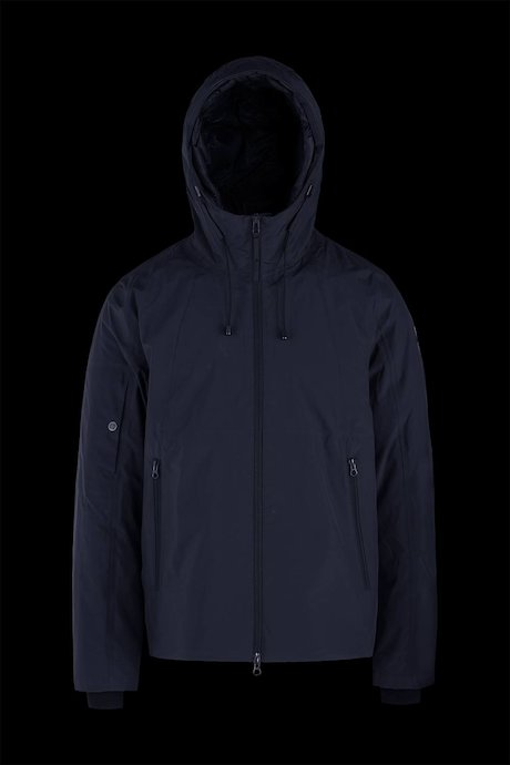 Jacket with Detachable Padded Lining
